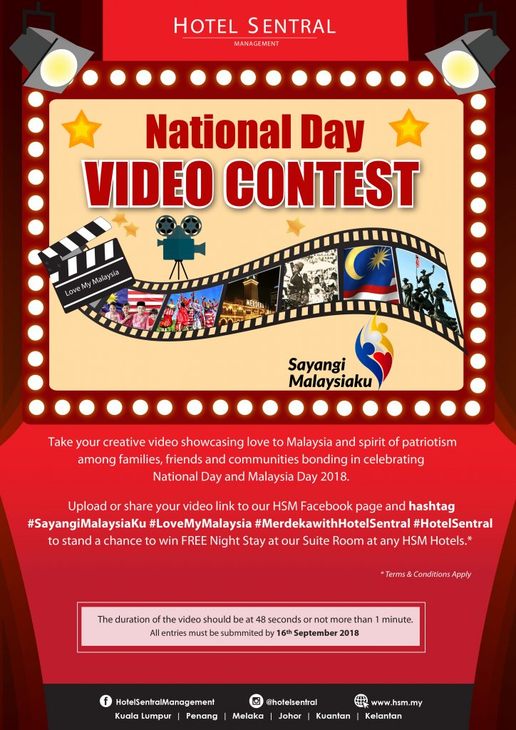 Hotel Sentral National Day Video Contest 2018